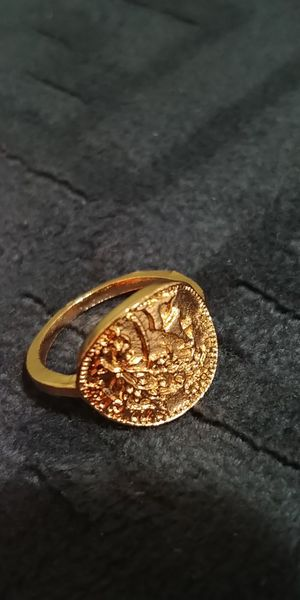 Gold colour ring size 5.5 for Sale in Victorville, CA