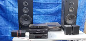 Technics Vintage Stereo CD and Surround Sound System for Sale in Miami, FL