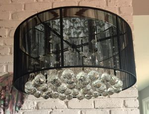Flush mount Crystal chandelier for Sale in Tacoma, WA