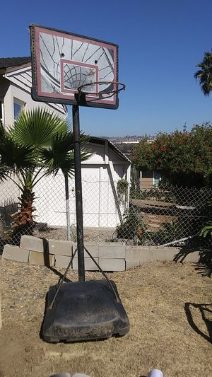 Lifetime portable basketball hoop for Sale in San Clemente, CA