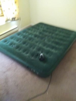 Colman air mattress and pump for Sale in Mountville, PA