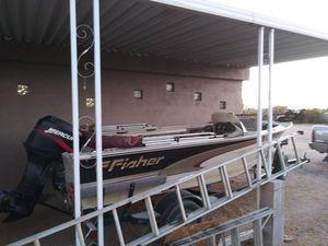 2000 Fisher deep v 16.5 for Sale in Apache Junction, AZ