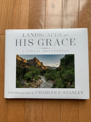 Landscapes of His Grace book by Dr Charles Stanley for Sale in Virginia Beach, VA