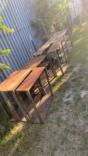 8 Metal shelves for Sale in Fort Worth, TX