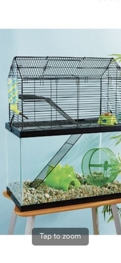 High Rise Hamster Cage With Tank for Sale in Everett,  WA