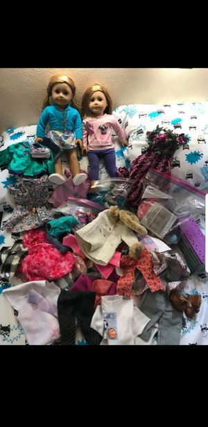 American girl dolls and clothing for Sale in Los Angeles, CA