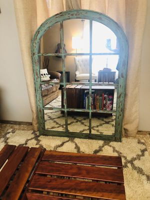 Large farmhouse mirror for Sale in Spicewood, TX
