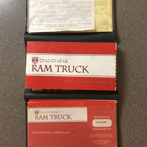 2006 Ram Truck Owners Manual for Sale in Vancouver, WA