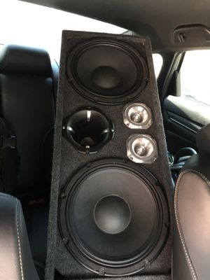 12 inchspeakers (pro series ) audio pipe tweters sound stream horn for Sale in Brooklyn, NY