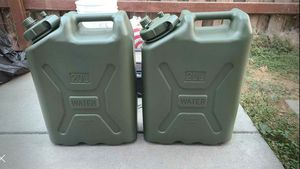 Military Water Container - 5 Gallon (20 Litre), AM Green for Sale in Newark, CA
