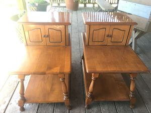 Vintage end tables for Sale in Stockton, CA