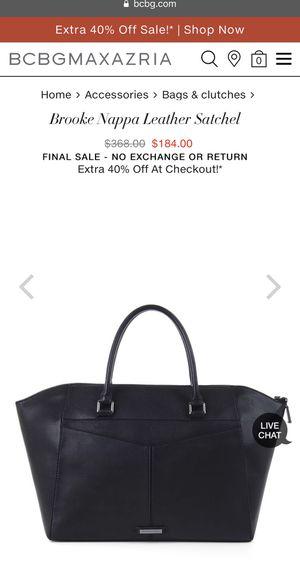 BCBGMAXAZRIA Leather Bag for Sale in Atlanta, GA