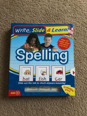 Spelling workbook for Sale in Hanover Park, IL