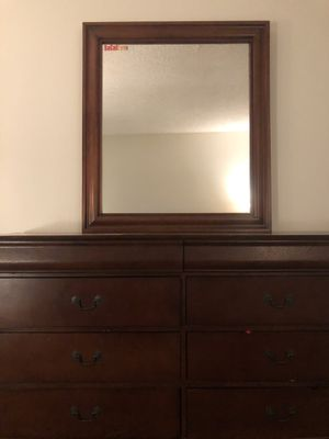 Chest of drawers with mirror for Sale in Long Beach, CA