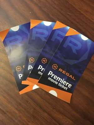 Regal Cinemas Movie Passes for Sale in Leominster, MA