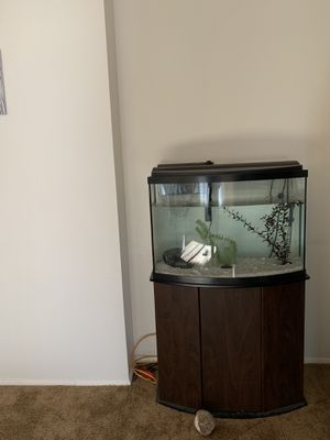 36 gal fish tank with filter and led lights for Sale in Tualatin, OR