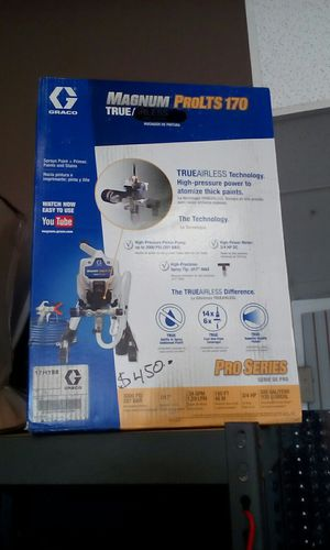 GRACO MAGNUM PROLTS 170 PAINT SPRAYER for Sale in Moreno Valley, CA