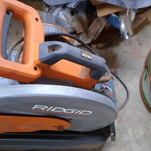 RIDGID CUTOFF SAW 14 IN for Sale in Chico, CA