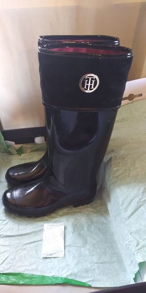 Tommy Hilfiger Rain Boots for Women, Size 10 for Sale in New Orleans, LA