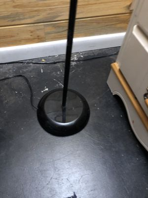 Black corner lamp for Sale in Clearfield, UT
