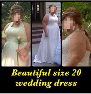 BEAUTIFUL WEDDING DRESS for Sale in Clearfield, UT