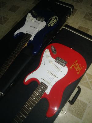 Budweiser & budlight beers..electric guitar for Sale in Chillum, MD