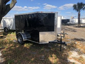 2019 5x8 SA Enclosed Trailer Cynergy Double Door for Sale in Tampa, FL