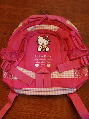 Hello Kitty backpack for toddler- Sanrio made in Japan * Barely used for Sale in Bothell, WA