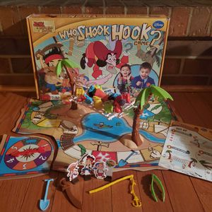 Disney Who Shook Hook Board Game Jake and the Neverland Pirate's for Sale in Colorado Springs, CO