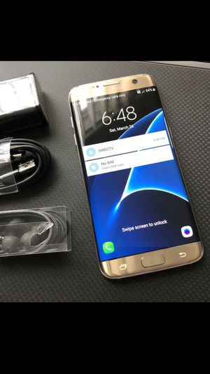 Samsung Galaxy S7 edge : Excellent Condition , Factory unlocked. for Sale in Springfield, VA