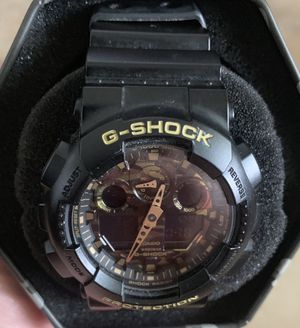 G Shock Watch Camo GA 100 Brand New in Box for Sale in Bradenton, FL