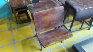 Vintage school desk for Sale in Philadelphia, PA