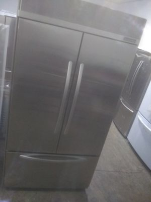 Kitchen-Aid stainless steel french door refrigerator home appliance kitchen for Sale in San Diego, CA