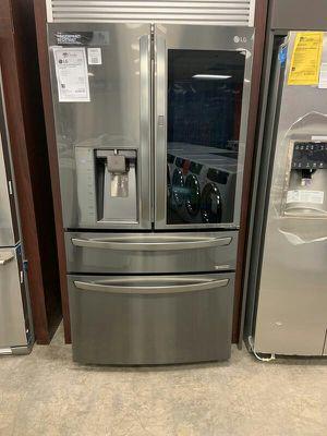 New LG Black Stainless Counter Depth Refrigerator Fridge 1yr Manufacturers Warranty for Sale in Gilbert, AZ