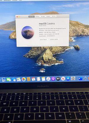 """2016 MacBook Pro 13"""" for Sale in Tamarac, FL"""