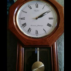 Seiko Westminster Whittington Pendulum Clock for Sale in Chino, CA
