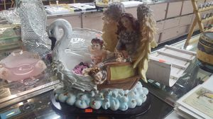 Angels on a swan for Sale in Willshire, OH