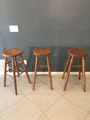 Three pc Bar Stool Set for Sale in San Diego, CA