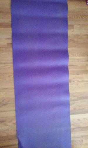 Purple extra long yoga mat for Sale in Salt Lake City, UT