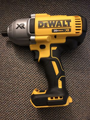 DEWALT 20-Volt Max XR Lithium-Ion 1/2 in. Cordless Impact Wrench Kit with Detent Pin Anvil (Tool-Only) for Sale in Kansas City, MO