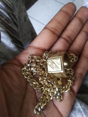 18k gold plated chain for Sale in Spring Valley, CA