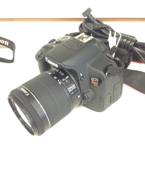 Canon EOS Rebel T6i 24.2MP Digital SLR Camera Black W/EF-S IS 18-55mm for Sale in Highland Beach, FL
