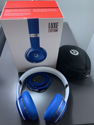 Beats Solo 2 Wired Luxe Edition for Sale in Washington, DC