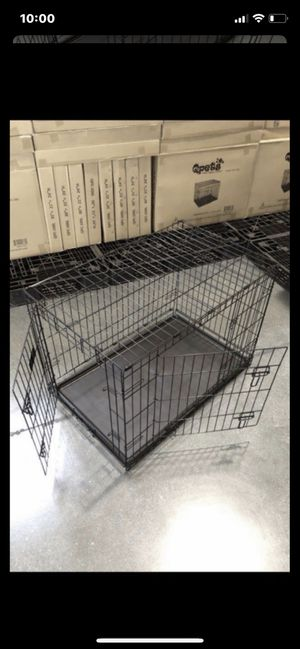 """Brand new 30"""" size dog pet cage crate kennel in factory sealed box🇺🇸 see dimensions in second picture. 🦮 for Sale in Las Vegas, NV"""