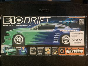 HPI RACING E10 Drift RC Car R32 GTR and FD Rx7 Body's for Sale in Las Vegas, NV