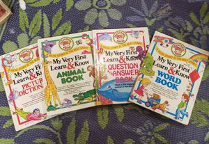 """Vintage Children's Books """"My Very First Learn and Know"""" for Sale in Lacey, WA"""