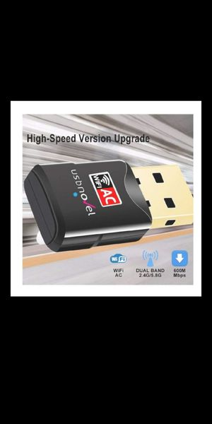 New. USB WiFi Adapter-Dual Band for Sale in Eastvale, CA