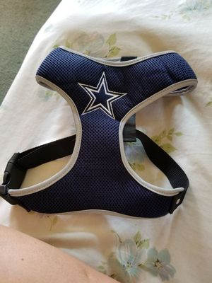 Dallas Cowboys dog harness xl for Sale in Campbell, NY
