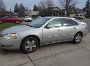 2007 Chevy Impala- Smogged & Registered , clean title for Sale in Rocklin, CA