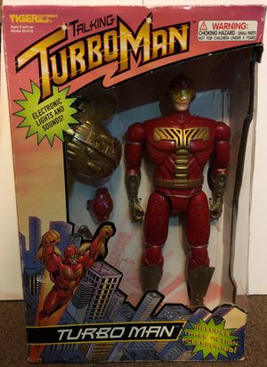 TurboMan 1996 Action Figure Brand New for Sale in Houston, TX